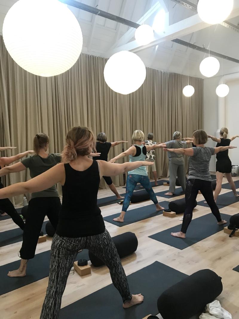 Wildflower yoga 1