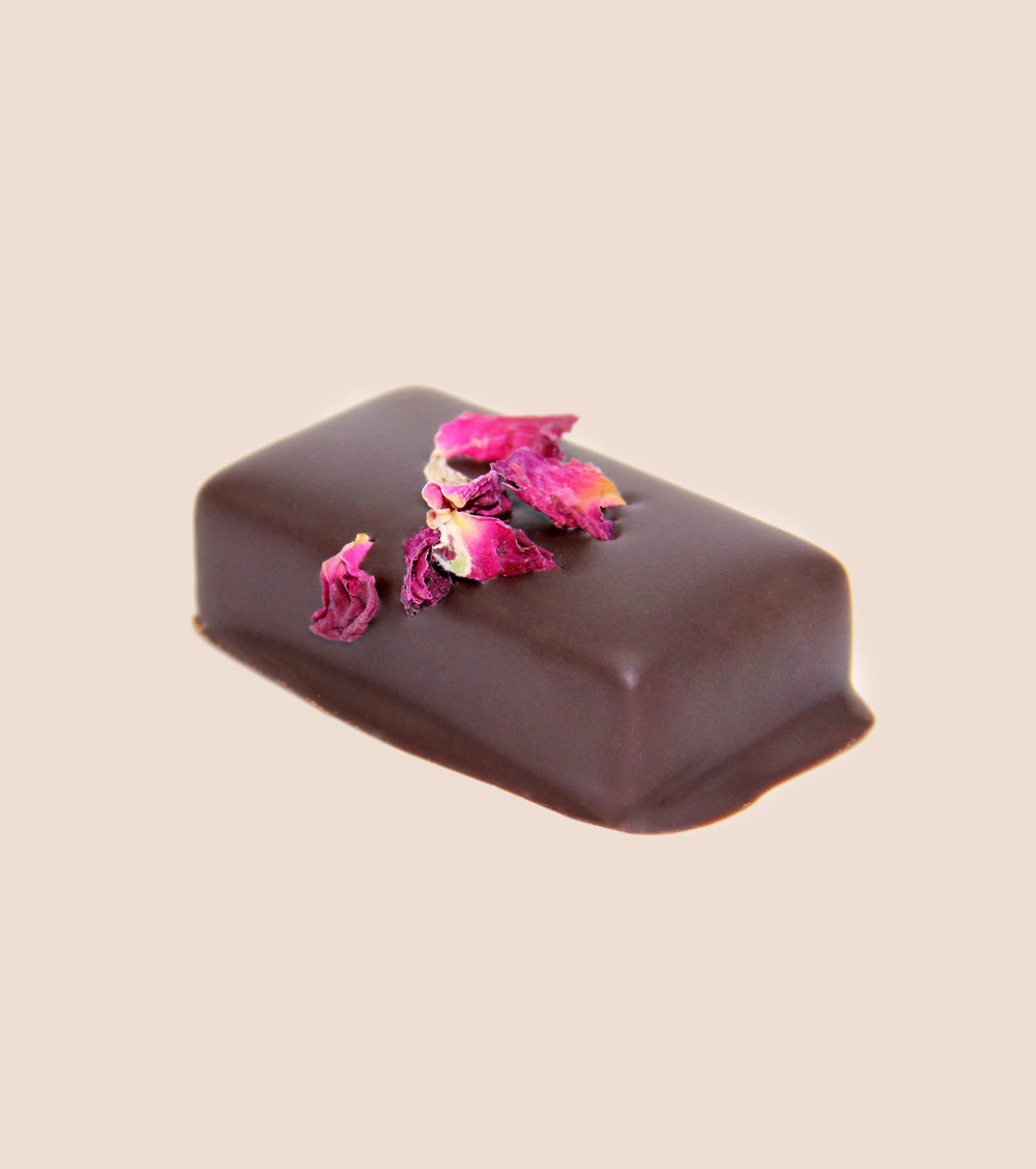FOR RADIANCE wild rose ganache with pearl & goji All about ...