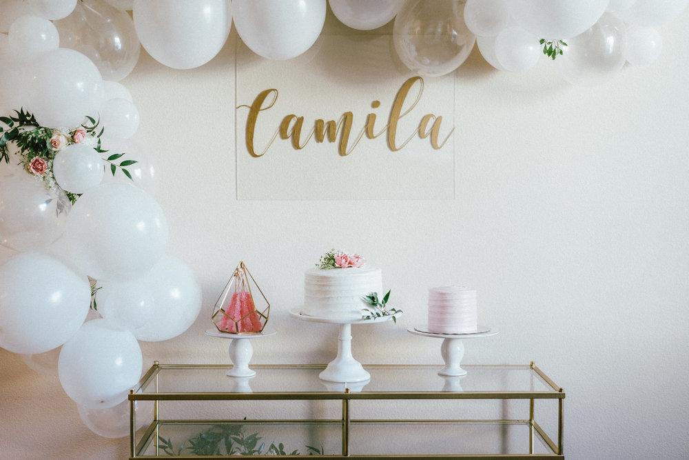 Hey loves ! we celebrated Camila's Birthday ..! Algo muy simple e íntimo en casa , pero que mucho disfruto Camila !!! ( yay) y por supuesto Luna! . Thank you so much @unforgettableeventssocal you did an amazing Job!!!! You are awesome !! Thank You @heropr for being my boyfriend , my best friend and the best daddy ever !    Mi chiquita cumplió su primer año, parece que fue ayer el día que nacio....¡. celebramos su cumpleaños de una manera muy íntima y simple, en nuestra casa con nuestra familia más cercana , Luna , papa y yo! Camila disfruto mucho , jugó, camino por horas , por cierto comenzó a caminar un día antes de su cumpleaños. Tuvimos postres de diferentes tipos y jamás pensé decirlo pero ordenamos cajas y cajas de pizza para todos con una bebida bien refrescante de Passion Fruit. Gracias a @unforgettableeventssocal Por el trabajo hermoso que hizo. Que cosa, aveces lo más simple es lo más que se disfruta. Aquí les dejo las fotos de su cumpleaños. Abrazos a todos!