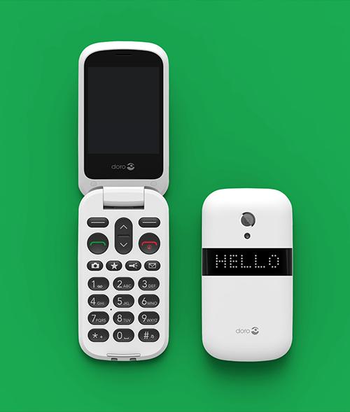 Doro –easy phones – Pixonal-above project