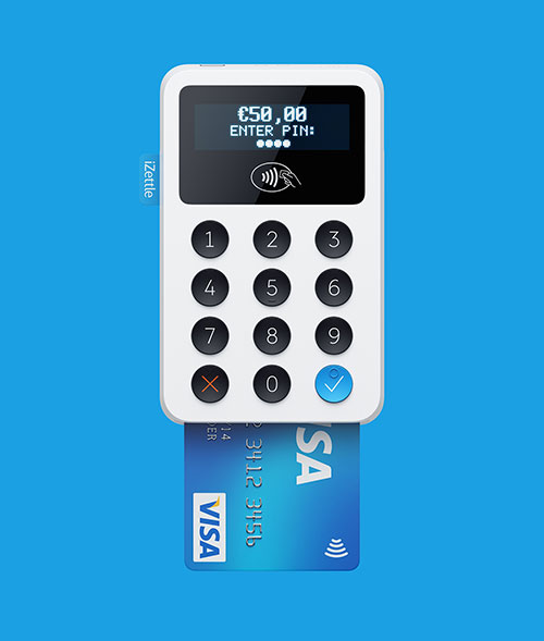 IZettle Mobile payments – Pixonal – above project