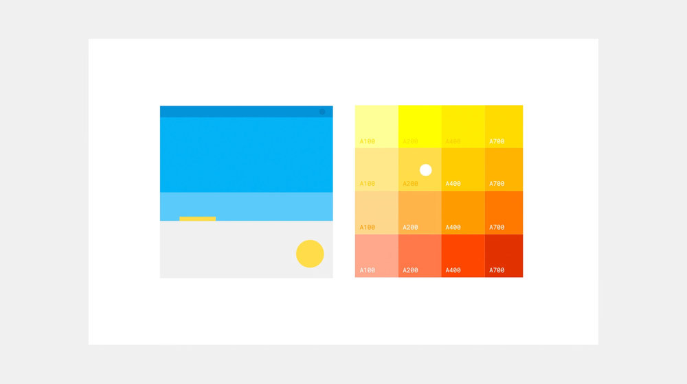 Google New Palette – Pixonal – Buck project