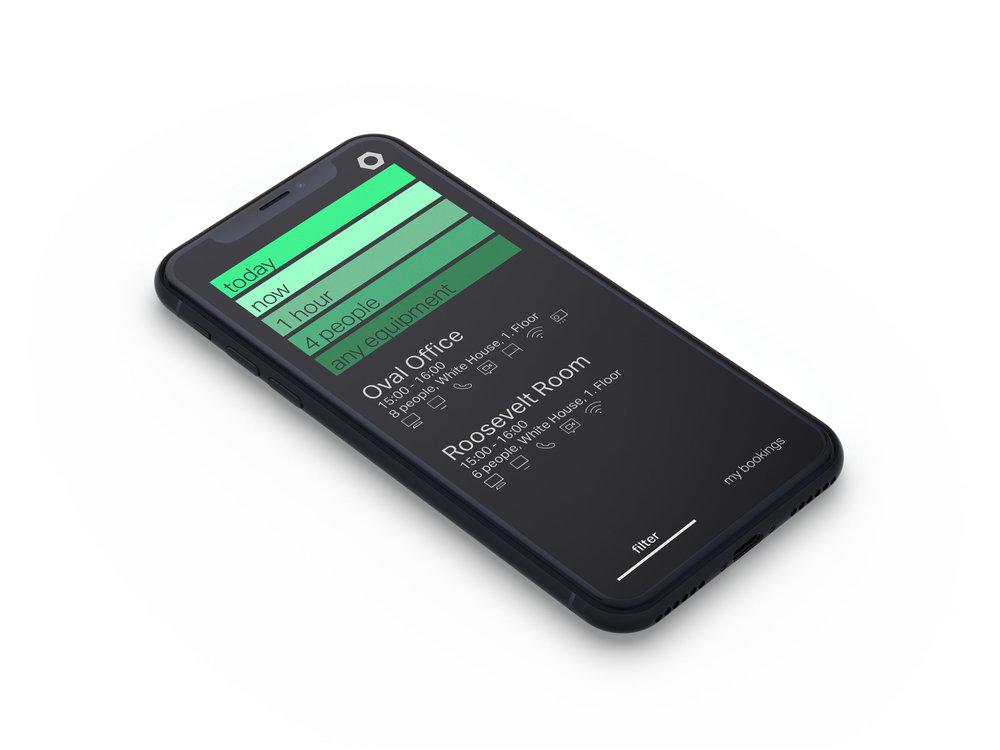 Evoko – booking meetings app – Pixonal- above project