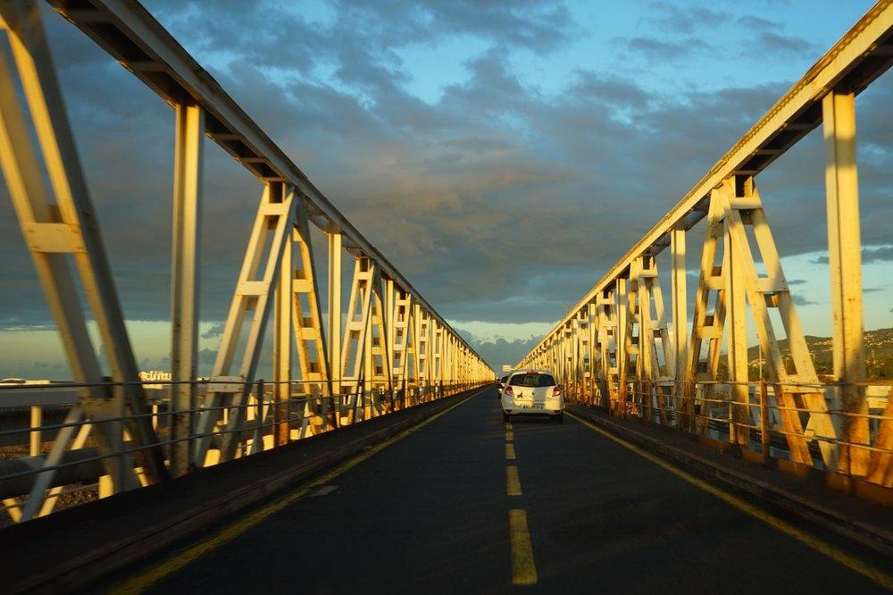 Pont de la Rivière des Galets, Île de la Réunion