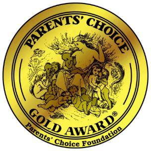 Winner of four Parents Choice Gold Awards
