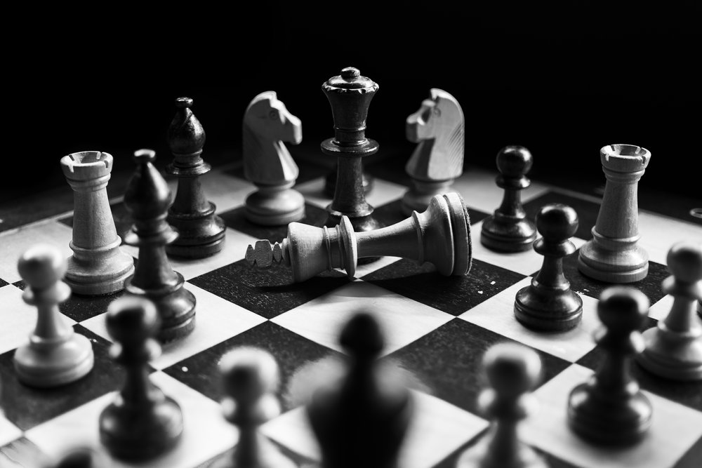Checkers vs. Chess - It's impossible to win if you don't know the rules of the game.