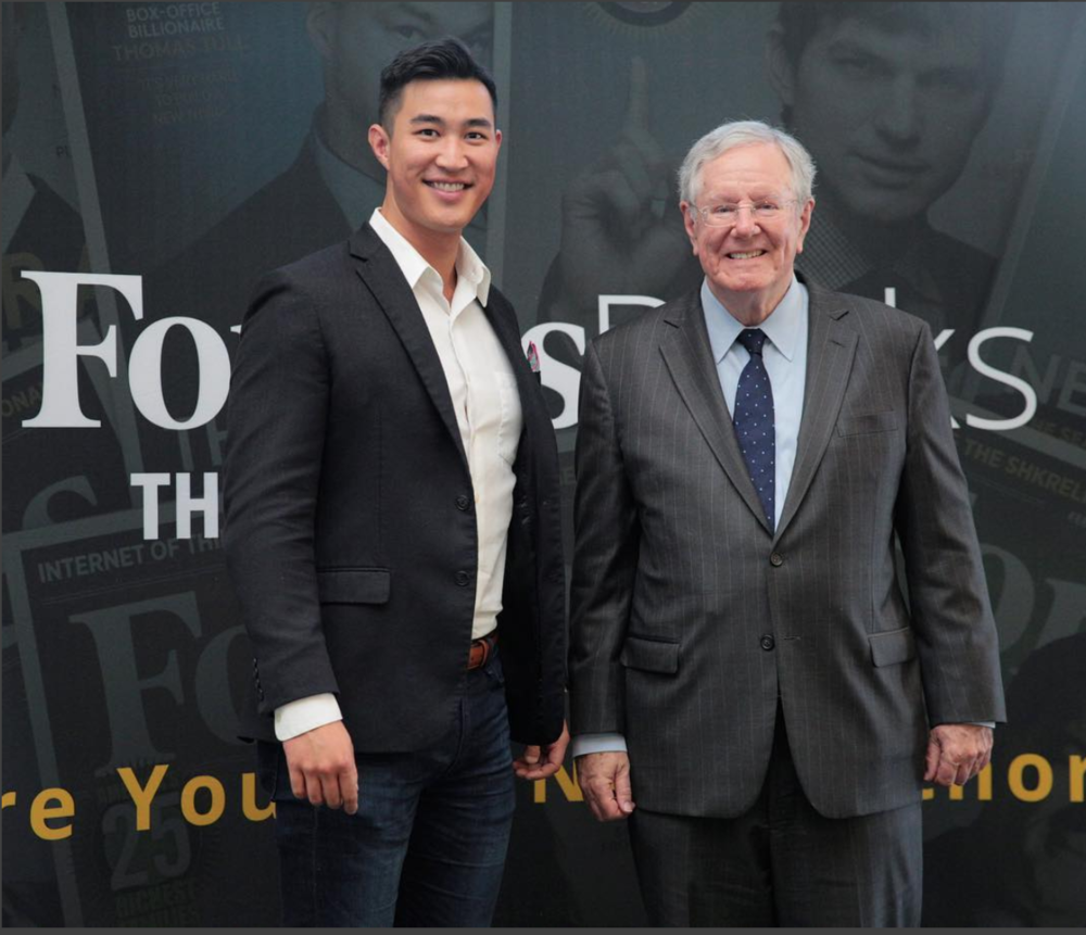 Wes Fang & Steve Forbes