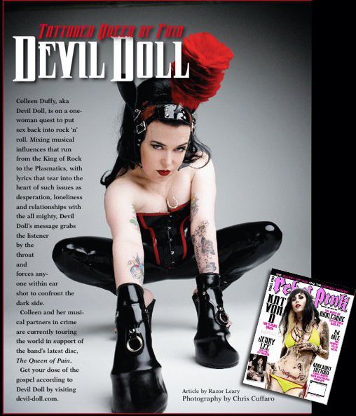 Devil Doll Tattooed Queen of Pain