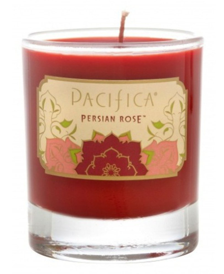 Pacifica Persian Rose Soy Candle