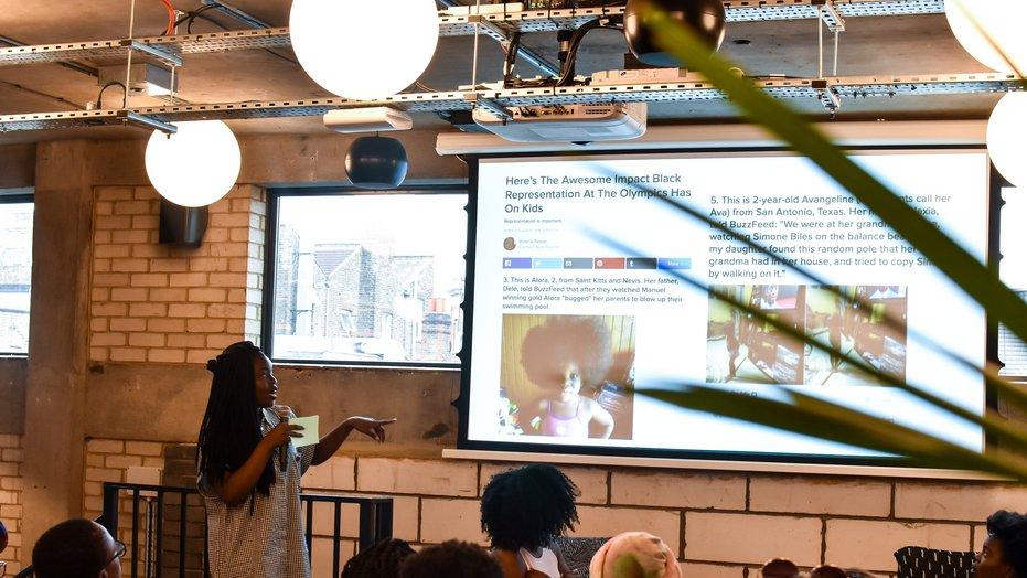 "Black Ballad's ""Black Girls Writing Workshop""  - June 2017. Pic Credit: Tols Malomo"