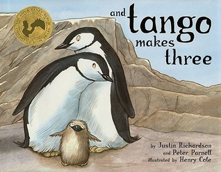 This illustrated children's book fictionalizes the true story of two male penguins who became partners and raised a penguin chick in the Central Park Zoo.