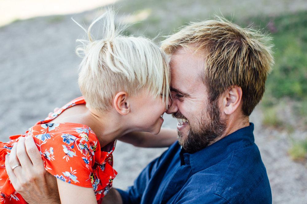 dotter, pappa, foto