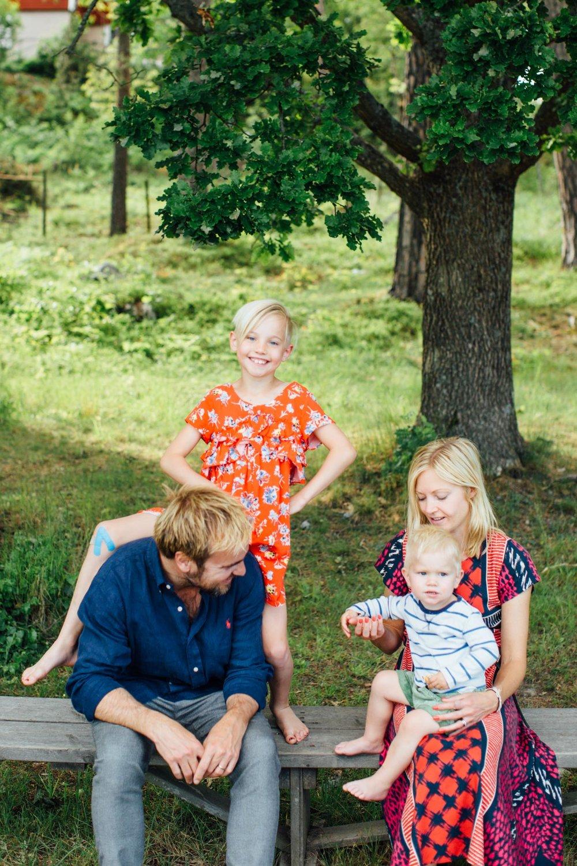 lek, familj, fotografering