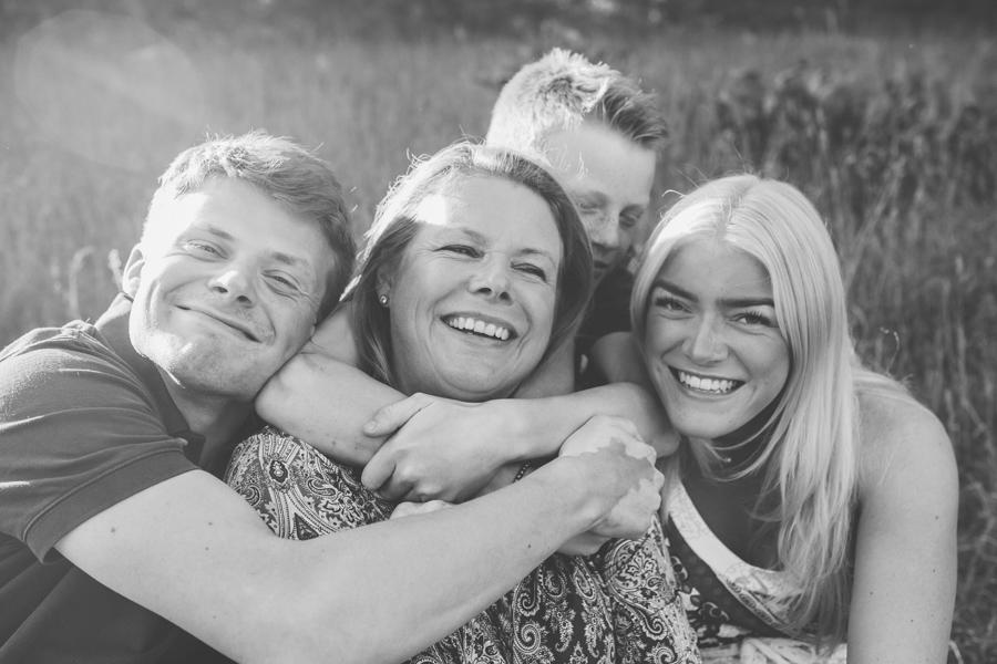 Familjefotografering i Tollare