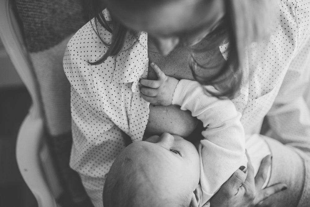 Amning bebis