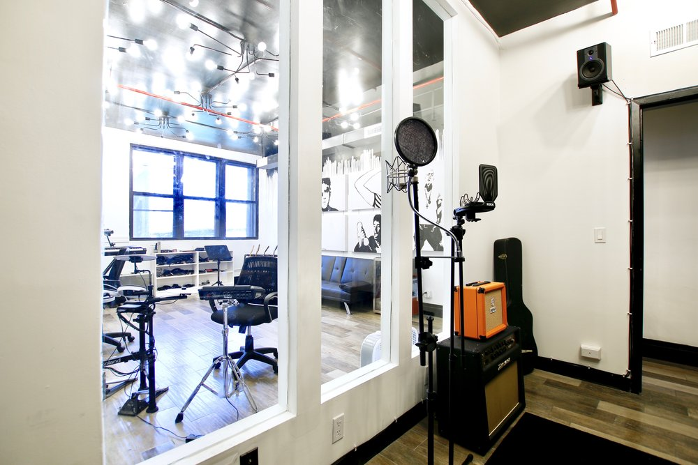 Bklyn Sound Recording Studio - located on the 4th Floor of the brand new Bklyn Commons co-working space located in Bushwick.