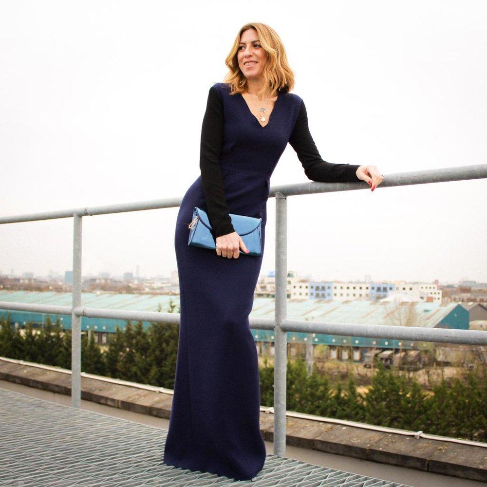 Dress - Roksanda £180 Clutch - DVF £85