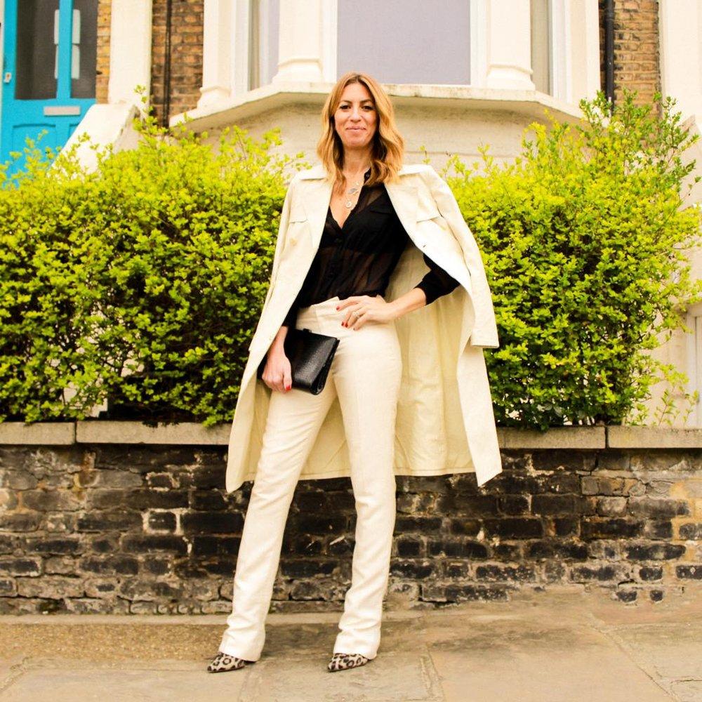 Shirt - Jigsaw £25 Trousers - Ralph Lauren £25 Jacket- Philosophy Di Alberta Ferretti £120  Shoes  - Lanvin X H&M £40 Clutch - £10