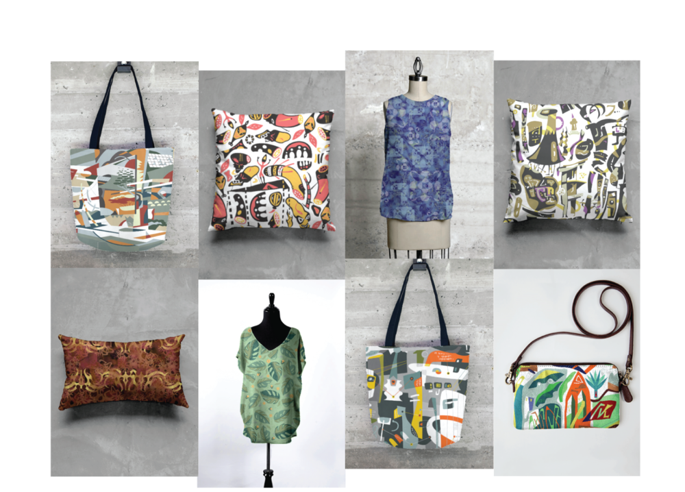 Find my patterns on merchandise at shopvida.com/collections/donbaker