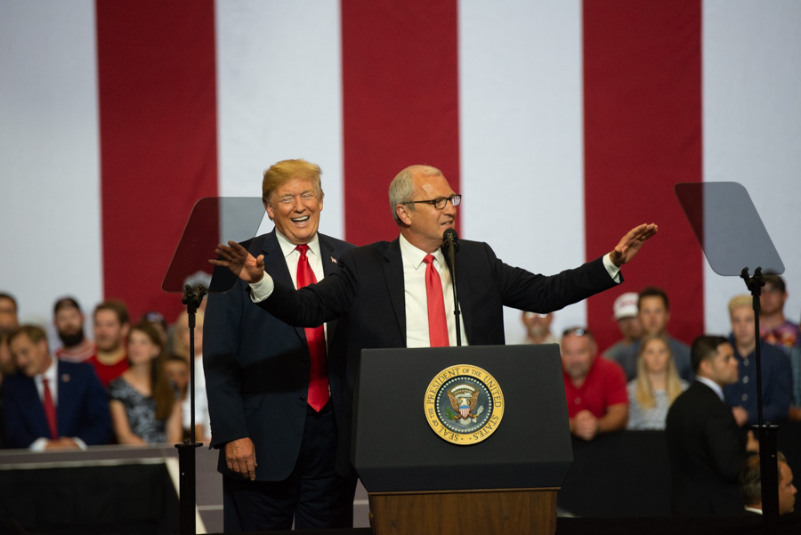 2018 President Donald Trump