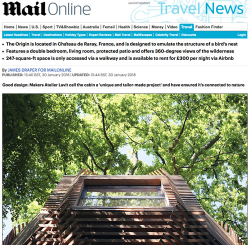 NEWS — Atelier LAVIT Architectural Tree House Designs Html on architectural playground designs, architectural landscape designs, architectural hotel designs, architectural apartment designs, architectural home designs, architectural studio designs, architectural bedroom designs, architectural bathroom designs, architectural kitchen designs, architectural garage designs, architectural office designs, architectural building designs, architectural gym designs, architectural restaurant designs, architectural bridge designs, architectural fence designs, architectural baseboard designs, architectural living room designs, architectural furniture designs, architectural grotto designs,