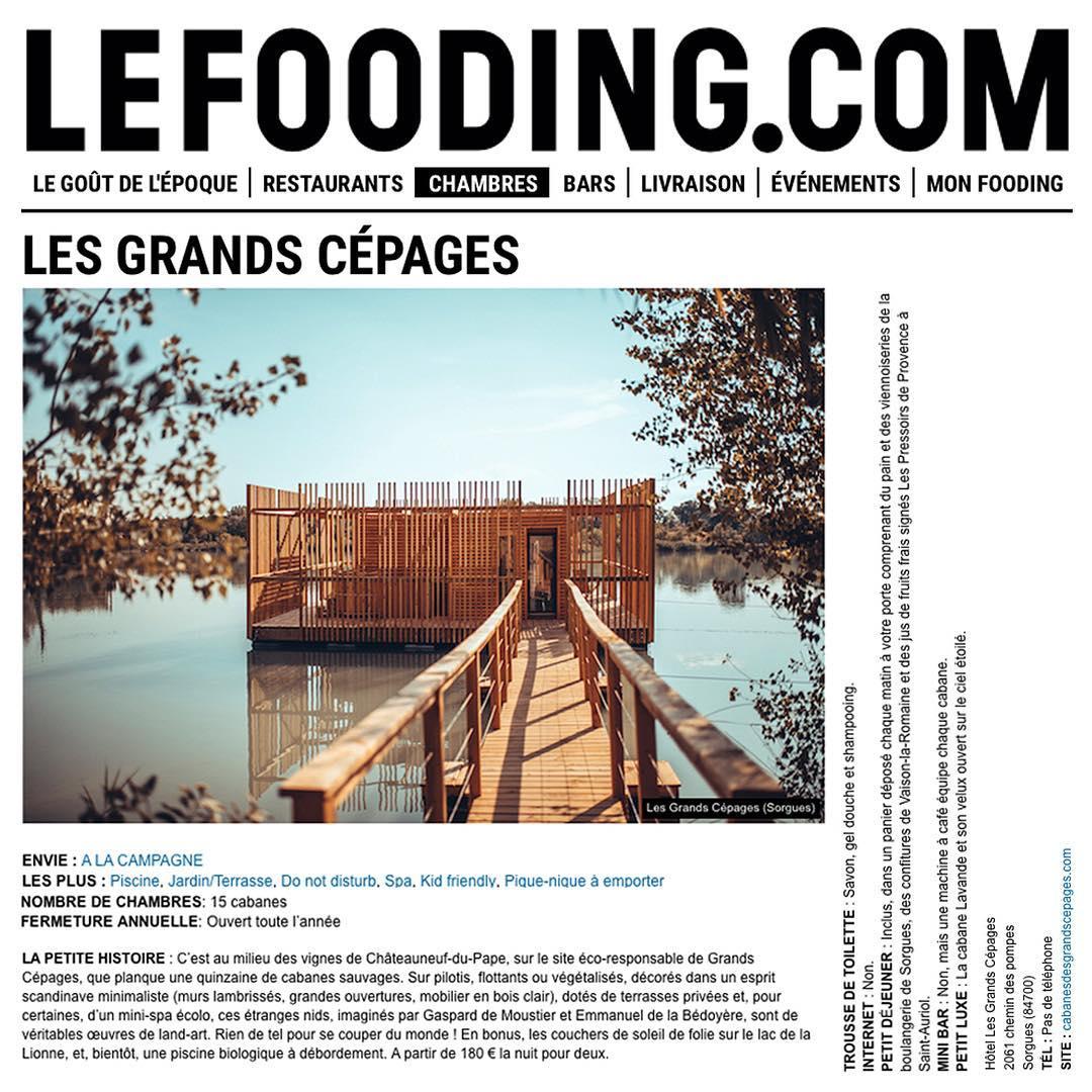 Le Fooding Atelier Lavit