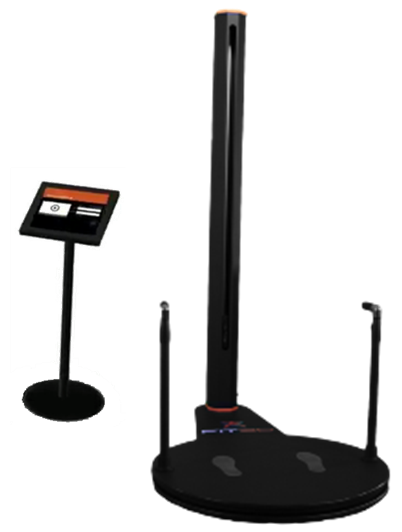 Depiction of the FIT3D body scanner