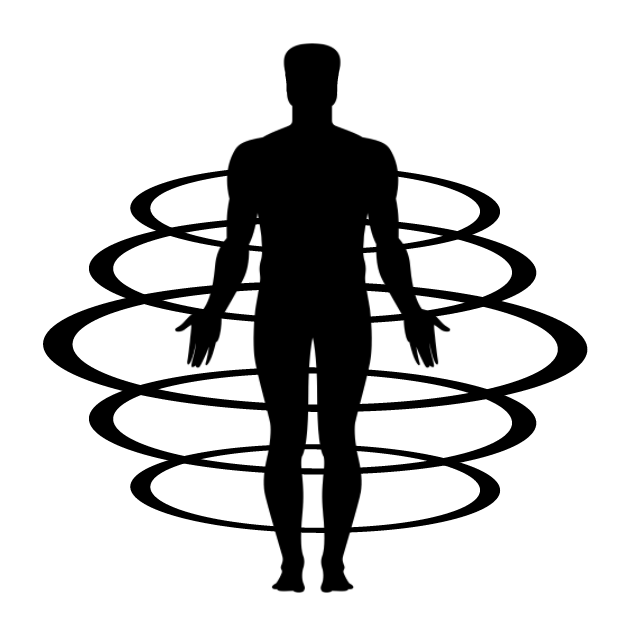 Icon illustrating a FIT3D Body Scan