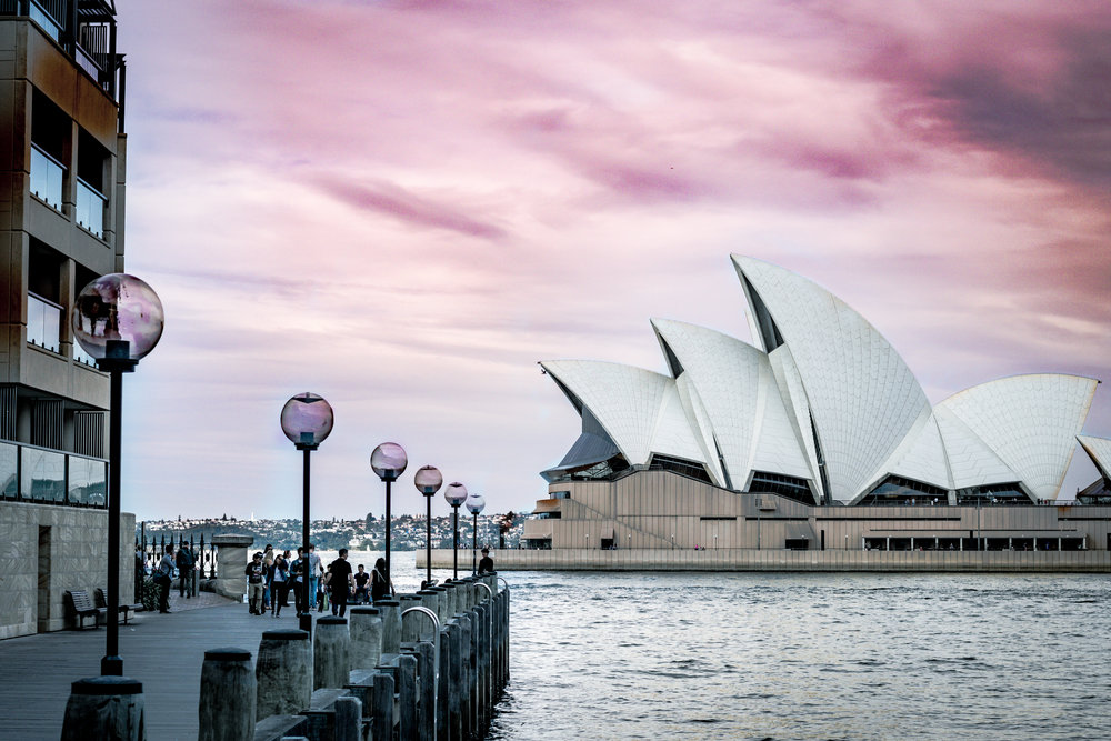 Hey! and welcome to my new Blog section. This week I would like to talk about this image and how it was taken. During our summer trip in Sydney, one of my goals was to take a breathtaking image of the Opera House. We all went to go take a walk during sunset around the harbor and I saw what I thought the best composition was. I took the photo and looked at it on the back of the camera. I had imagined this amazing architectural image, but it looked like it was one of those thought vs reality youtube videos. I thought to myself, what can I do to make this a better image. Let's incorporate some foreground, it was a rule of thumb in landscape shots, so it should be here. I tried it but there were so many people in it! Wait I am taking a photo of a city, there should be people. So here is the final product let me know what you think! Remember to broaden your horizons.