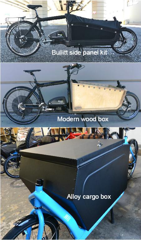 Bullitt versatility boxes