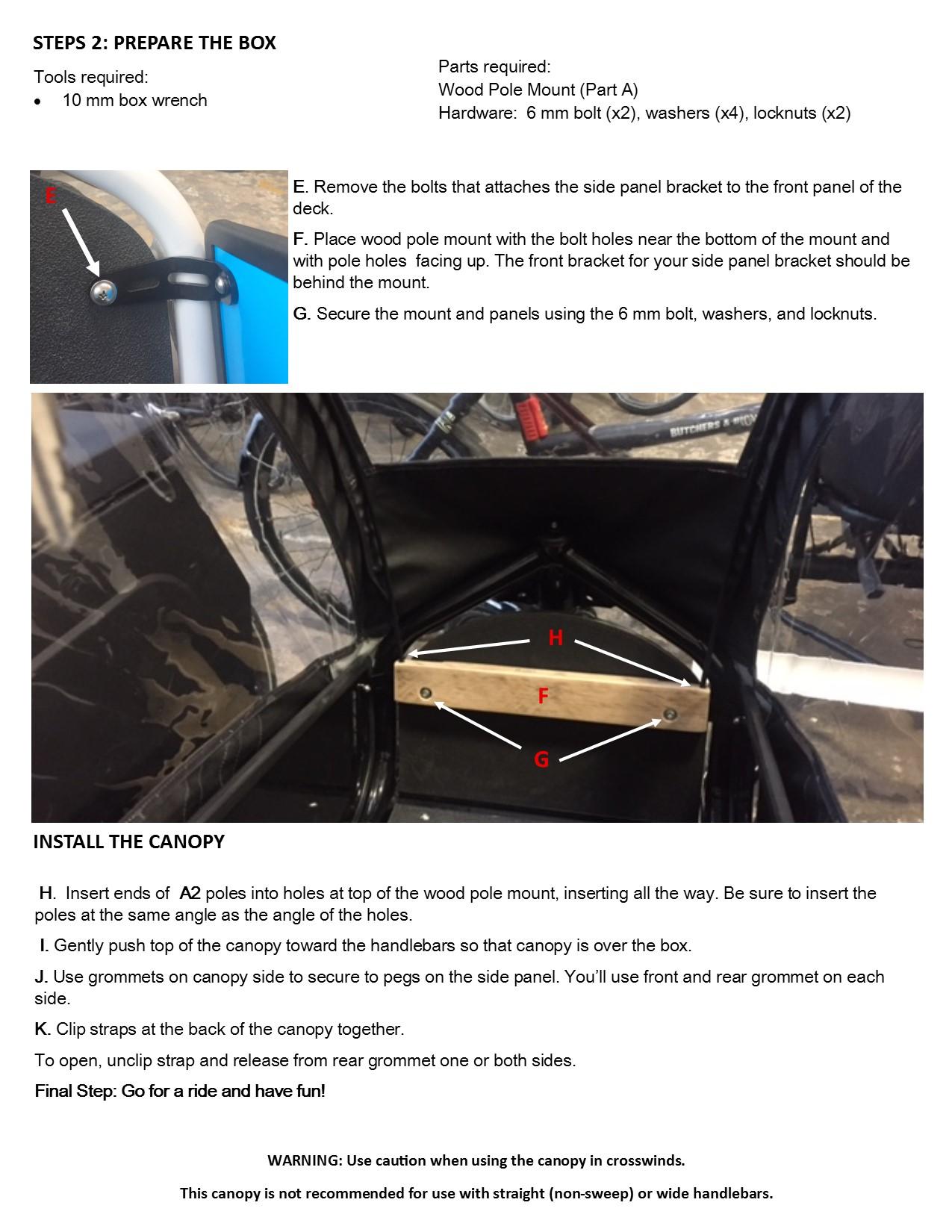 Canopy install LVH Panels pg 2 jpeg