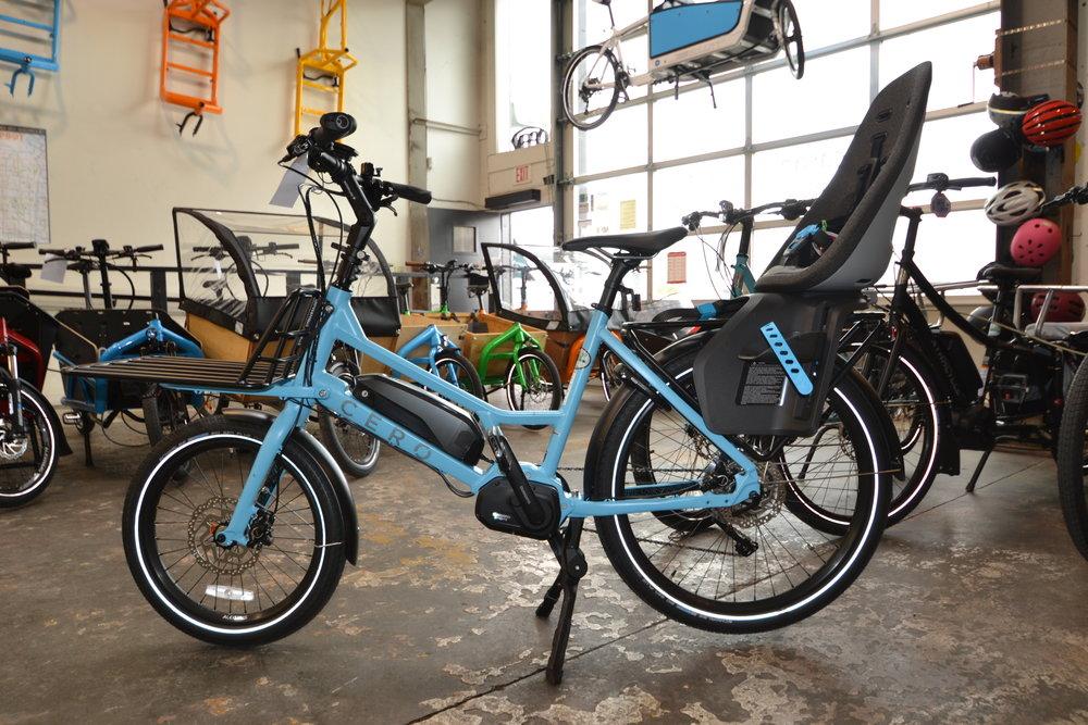 Cero Bikes - Compact E-Cargo Bikes