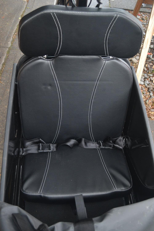 Child Seat w/ 2 lap belts $350