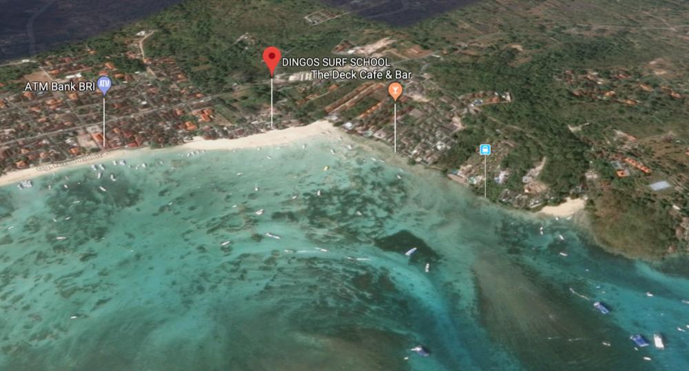 Dingo's Surf School Nusa Lembongan