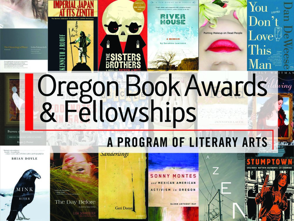 Poster for the 2012 Oregon Book Awards