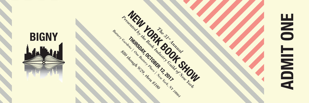 New York Book Show 2017 ticket