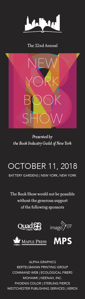 New York Book Show 2018 bookmark