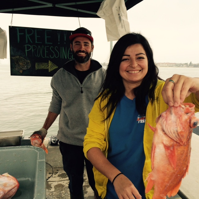 Friendly THDM fishermen. Photo credit: S. Shoffler
