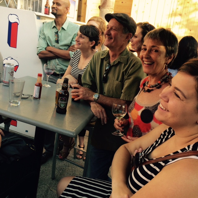 Community and conviviality at our Slow Sips events. Photo by S. Shoffler