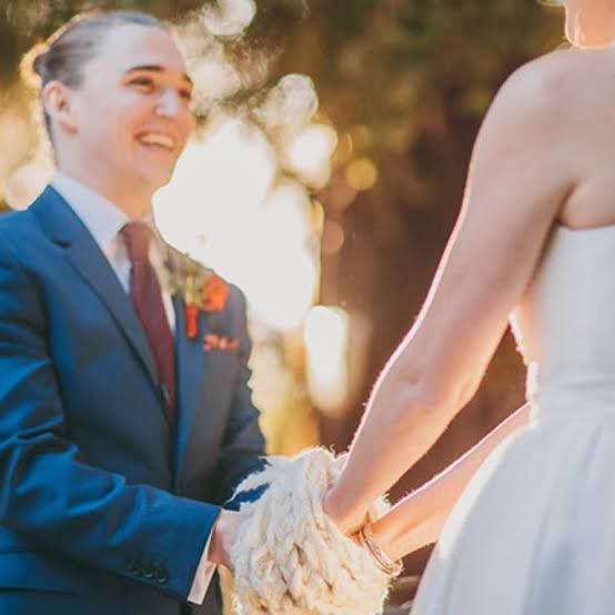 Hand fasting is one of the many rituals that is visually stimulating for your audience and meaningful at the same time.