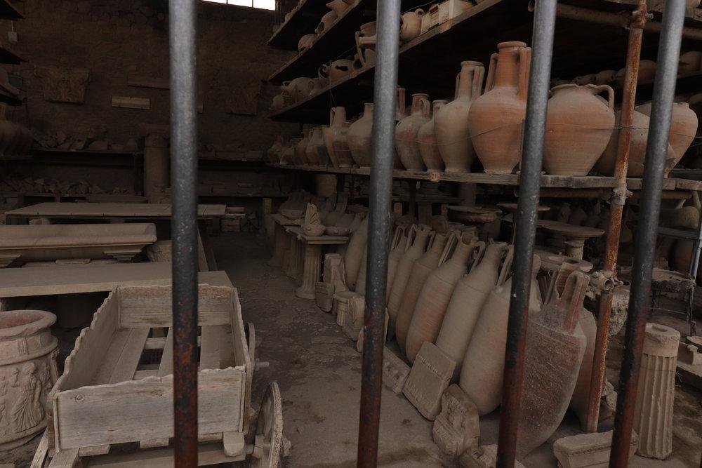 Old Wine Pots
