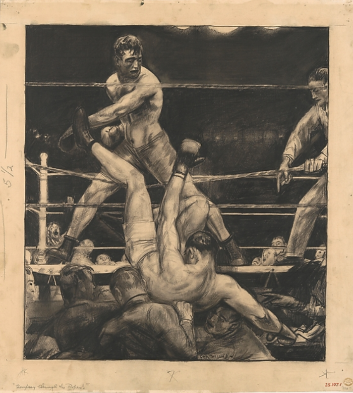 - Dempsey Through the Ropes, 1917