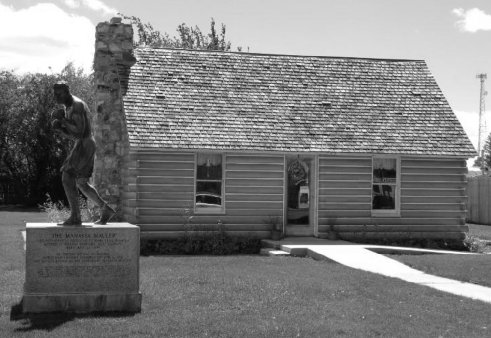 Dempsey's first home in Manassa, now the Jack Dempsey Museum -