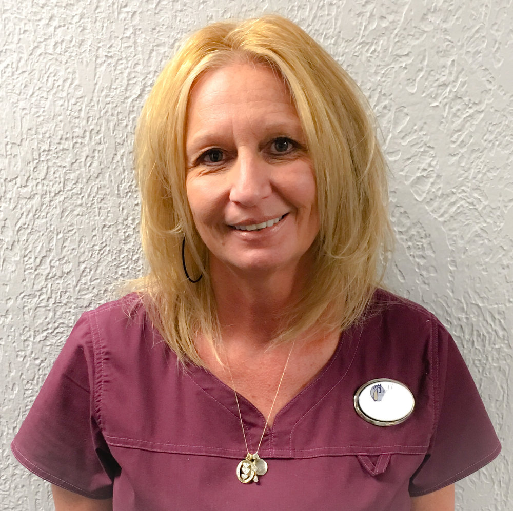 podiatry team member lisa