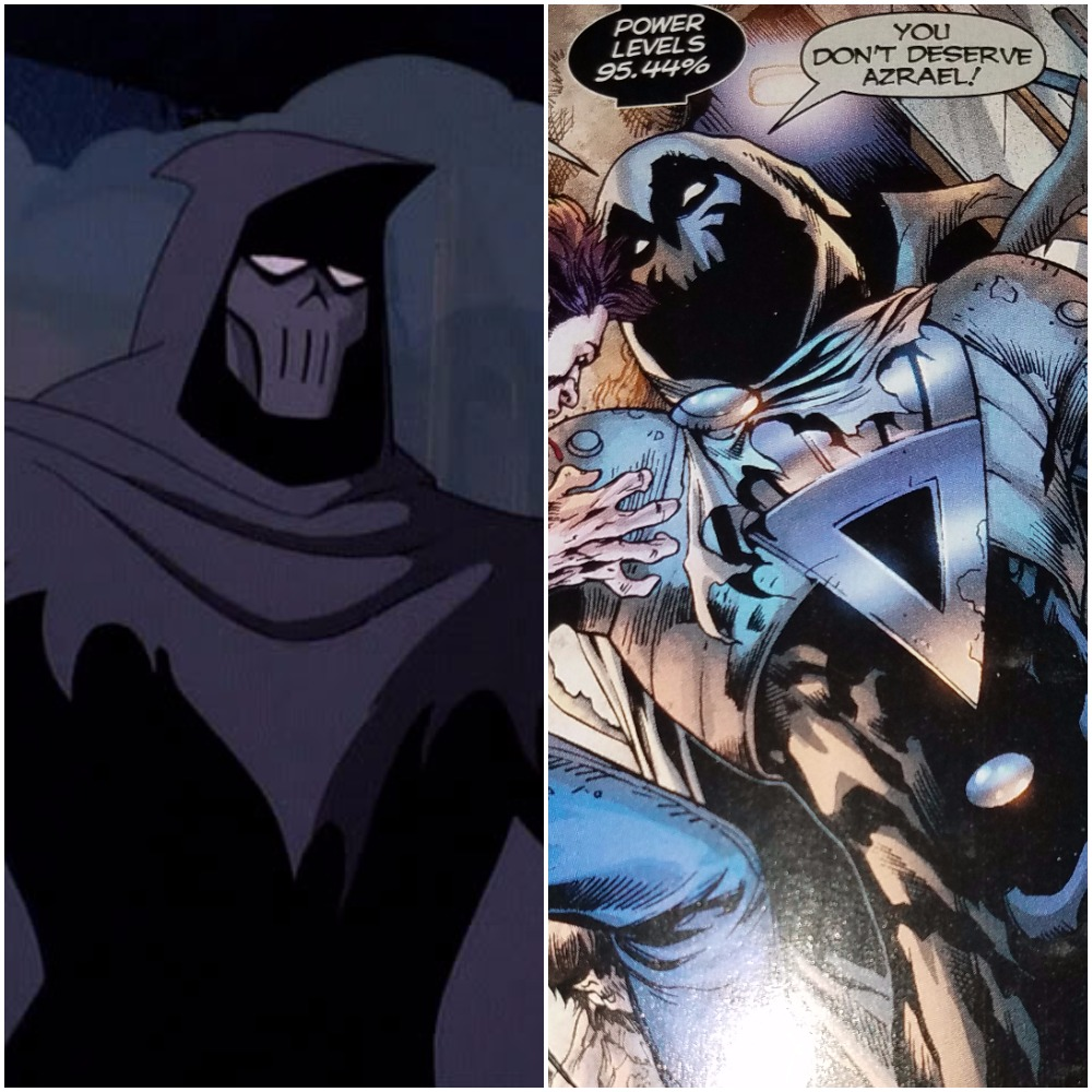 MASK OF THE PHANTASM VS ZOMBIE AZRAEL