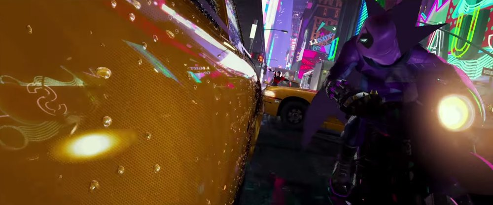 PROWLER IN THE NEW SPIDERMAN: INTO THE SPIDER VERSE TRAILER
