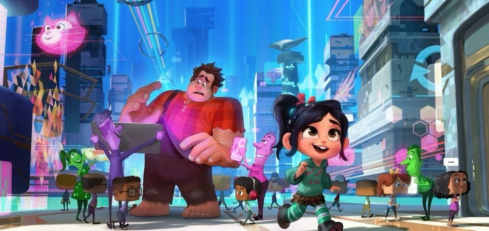 FIRST LOOK AT WRECK IT RALPH 2