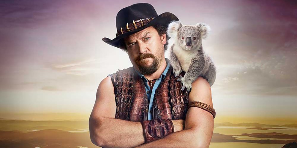 DANNY MCBRIDE AS THE SON OF DUNDEE