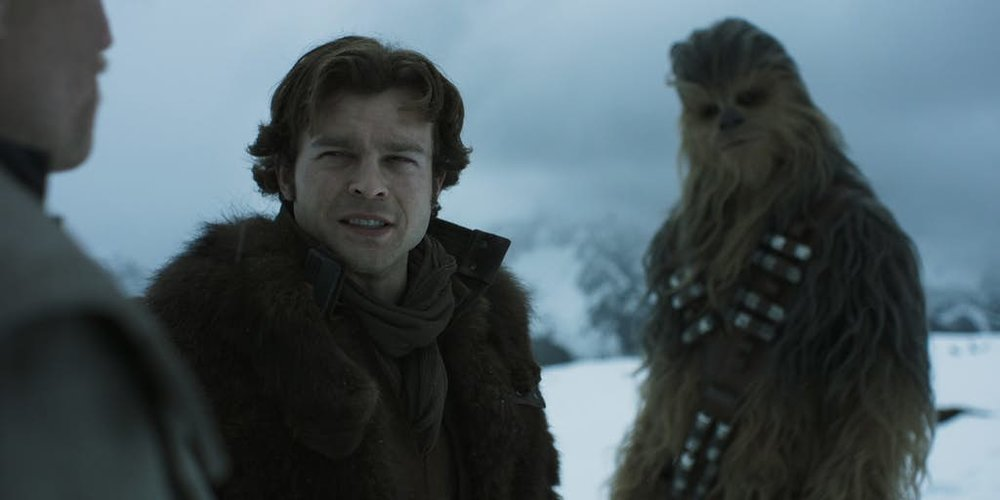 HAN AND CHEWIE IN THE FIRST TRAILER