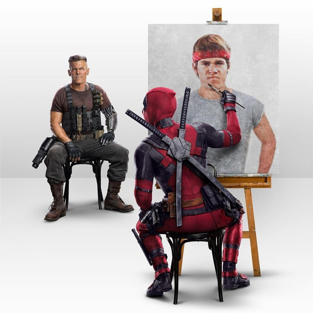 DEADPOOL MESSING WITH CABLE